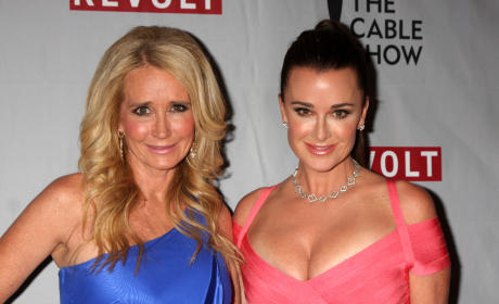 Kyle Richards with Kim Richards