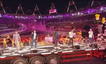 One Direction Performs at Olympics Closing Ceremony