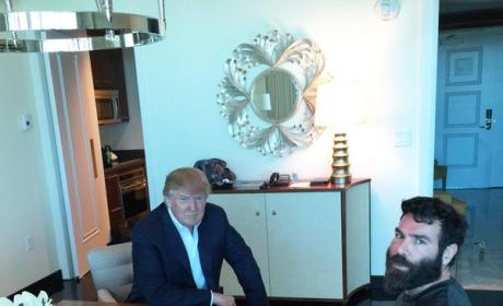 Dan Bilzerian Hangs With Donald Trump, Thinks You're a P--sy