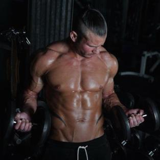 Nathan Griffith Working Out