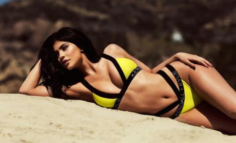Kylie Jenner and Kendall Jenner Model New Swimwear Line