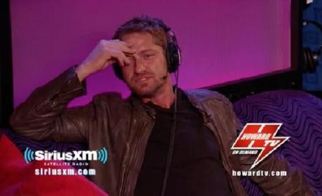 Gerard Butler Howard Stern Show Interview