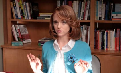 Jayma Mays Confirms Impending Departure from Glee