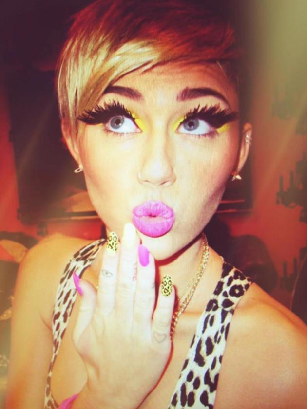 Naughty Miley Cyrus