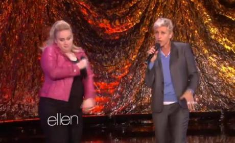 Rebel Wilson and Ellen DeGeneres Make Like Salt 'n Pepa