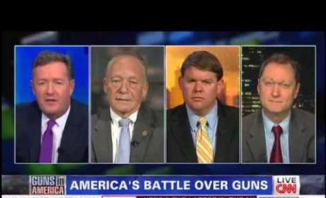 Piers Morgan Unloads on Pro-Gun Panel