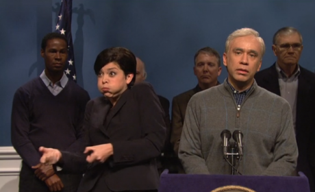 The Saturday Night Live sign language skit was...
