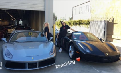 "Kendall Jenner and Kylie Jenner: Look at Our ""Embarrassing"" Ferraris!"