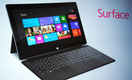 Microsoft Unveils Surface Tablet, Competition for iPad
