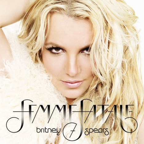 Britney Spears: Femme Fatale Album Cover