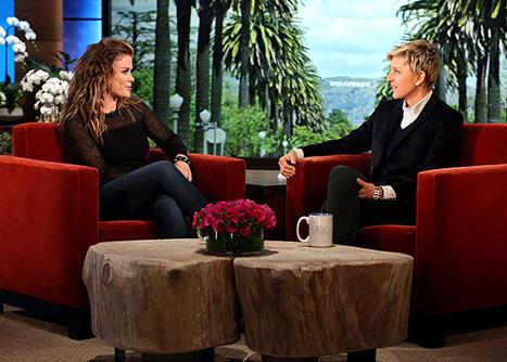 Alison Sweeney on Ellen