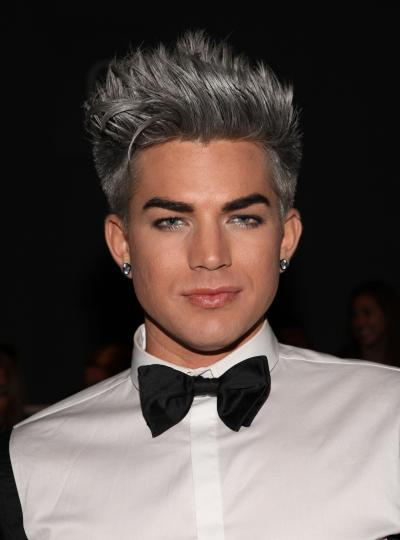 Adam Lambert in a Bow Tie