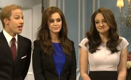 Katy Perry Channels Pippa Middleton on SNL