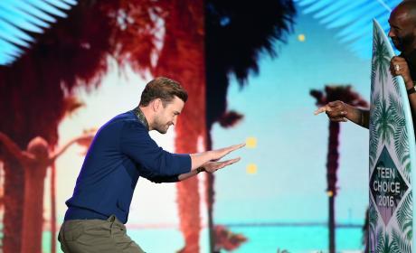 Justin Timberlake Wins