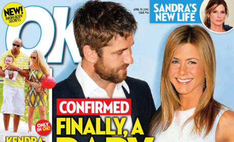 Report: Gerard Butler to Impregnate Jennifer Aniston