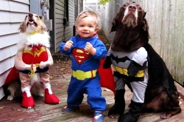 Baby And Dog Halloween Costume Ideas It's a Halloween Costume Idea
