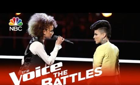 Ameera Delandro vs. Sonic Battle (The Voice Battle Round)