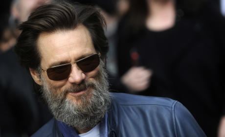 Jim Carrey in New York