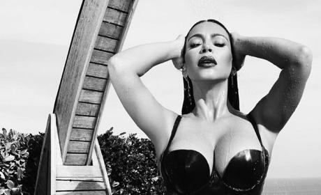 Kim Kardashian: Wet and Busty