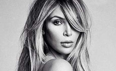 Kim Kardashian Swimsuit Photo