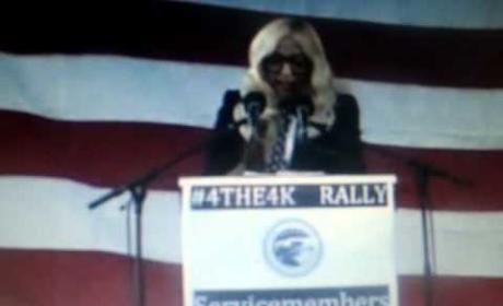 Lady Gaga Rally Speech Part 1