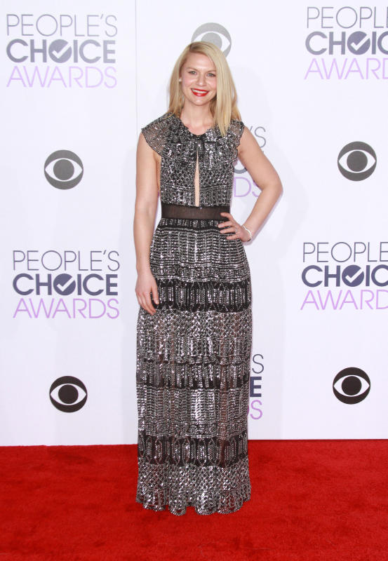 Claire danes 2016 peoples choice awards