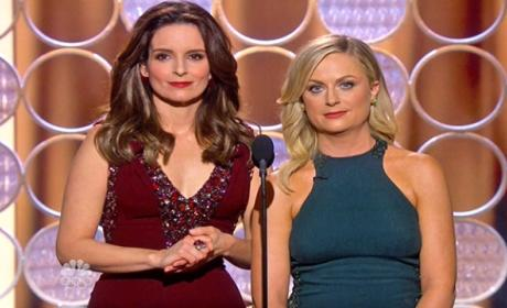 Golden Globes: Grade Tina and Amy's Monologue!