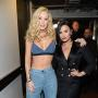 Iggy Azalea and Demi Lovato: Backstage at the 2016 iHeartRadio Music Awards