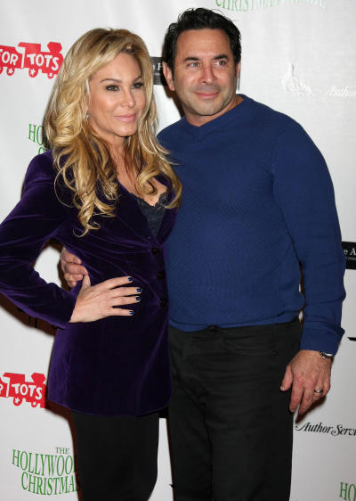 Paul Nassif with Adrienne Maloof