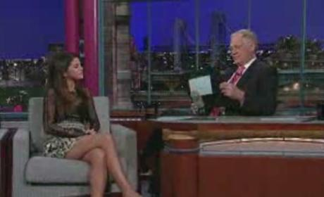 Selena Gomez Blushes Over Justin Bieber