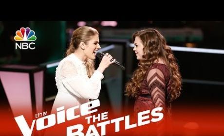 Katelyn Read vs. Treeva Gibson (The Voice Battle Round)