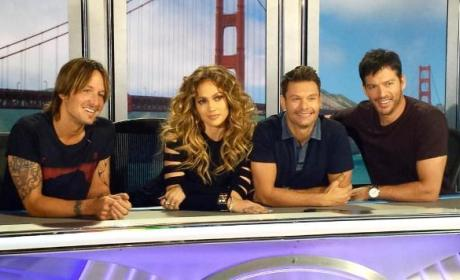 American Idol Season 14 Judges in San Francisco