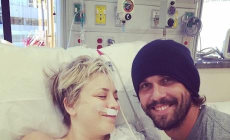 Kaley Cuoco-Ryan Sweeting Hospital Photo