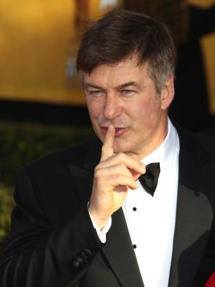 Alec Baldwin at the SAG Awards