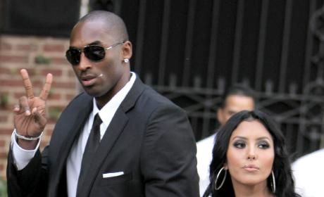Kobe Bryant and Wife Vanessa