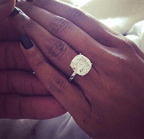 Gabrielle Union Engagement Ring