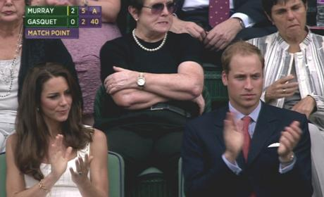 Royal Couple at Wimbledon