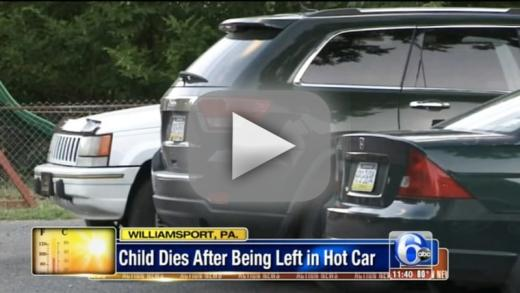 Four year old dies in hot car after being left there all day by