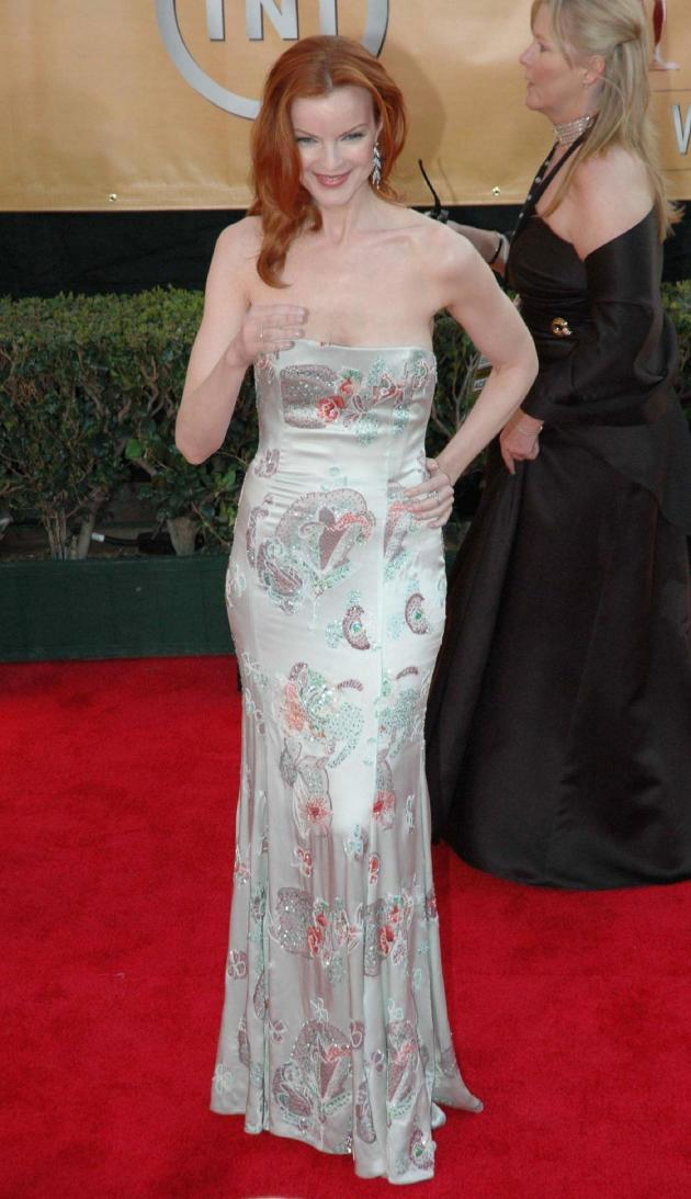 Marcia Cross Short Red Hair