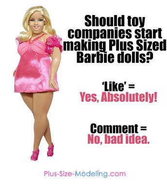 Plus-Size Barbie Pic