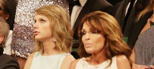 Taylor Swift and Sarah Palin