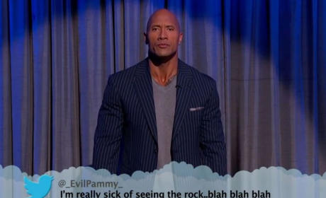 Celebrities Read Mean Tweets, Crack Us Up