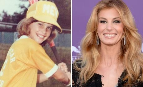 Faith Hill as a Kid