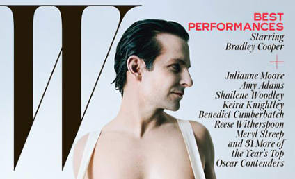 Bradley Cooper: Naked For W Magazine!