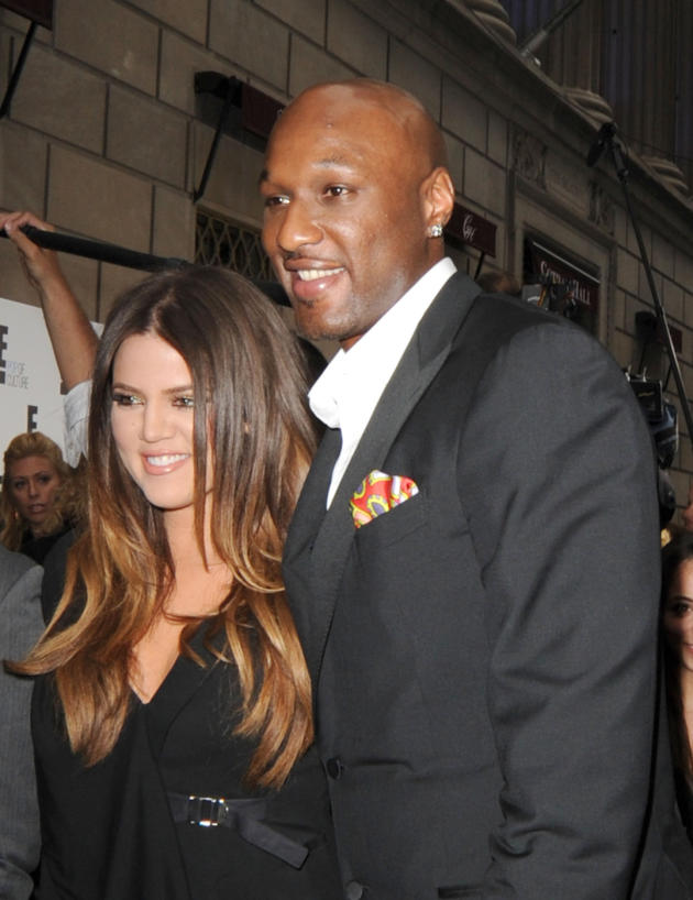 Khloe and Lamar Sighting