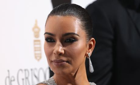 Kim Kardashian Face Pic