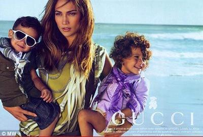 Jennifer Lopez Gucci Ad