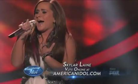 Skylar Laine on American Idol Elimination: Sad, Not Surprised