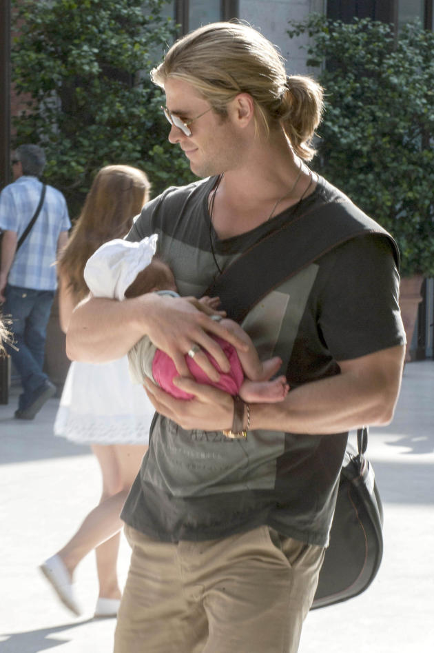 Chris Hemsworth, Baby