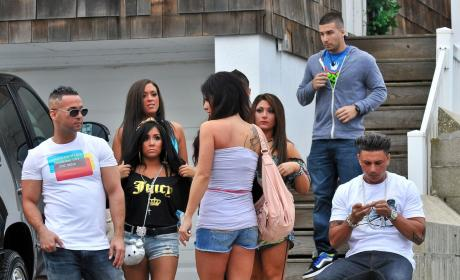 Jersey Shore Cast Back Home